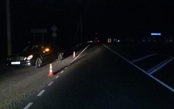 В Рязанской области иномарка сбила пешехода