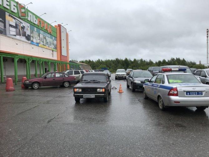В Сыктывкаре автомобиль сбил 8-летнюю девочку (1)