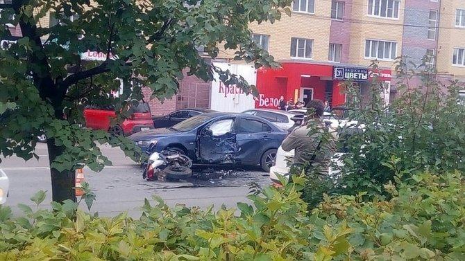 В ДТП в Дзержинске погиб мотоциклист (1)