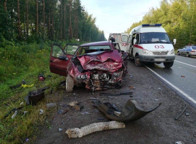 Молодой водитель погиб в ДТП в Удмуртии (2)
