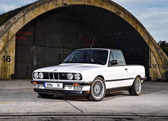 8 BMW E30 M3 Pickup