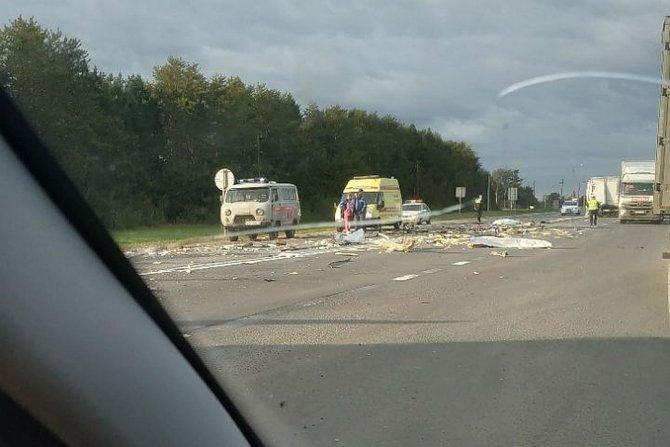 В ДТП в Ярославской области погиб человек (3)