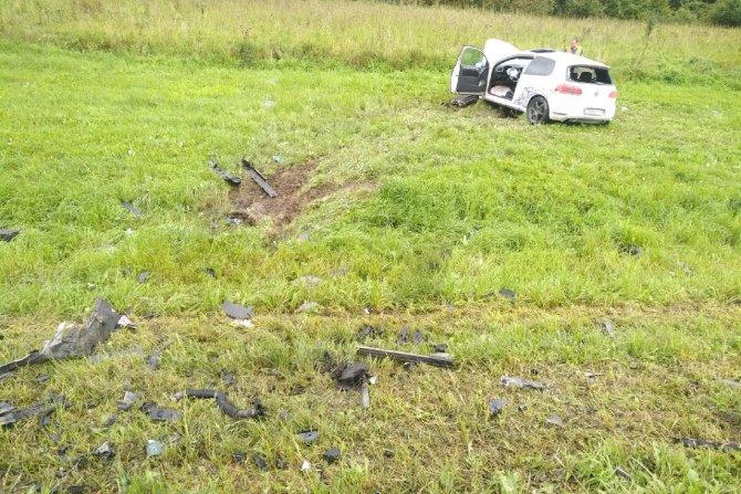 Пассажир иномарки погиб в ДТП в Тульской области (2)