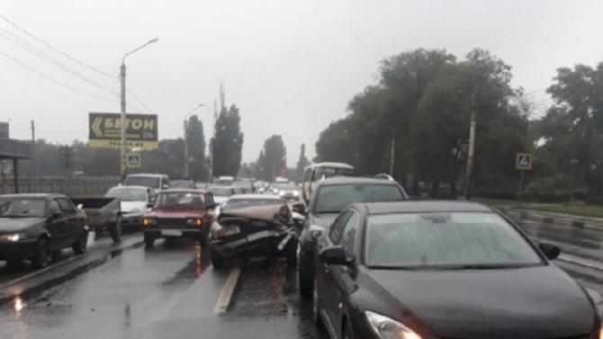 9-летний ребенок пострадал в ДТП в Воронеже