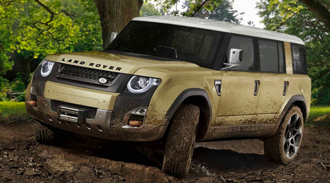 5 Land Rover Defender