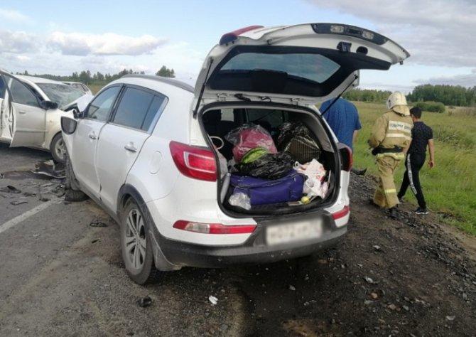 Две женщины и ребенок погибли в ДТП в Курганской области (1)