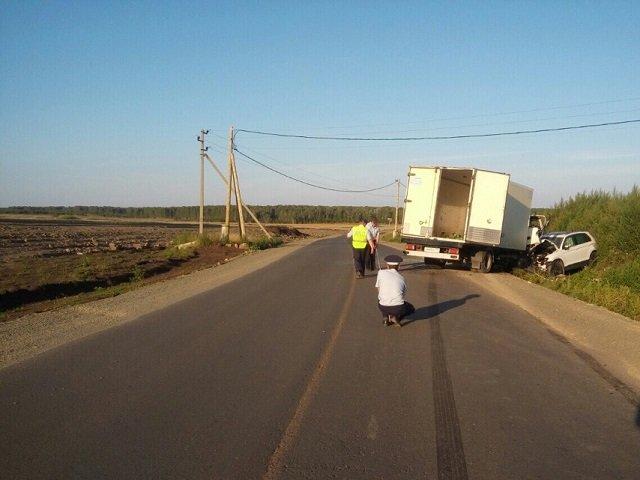 Три человека пострадали в лобовом ДТП в Челябинской области (1)