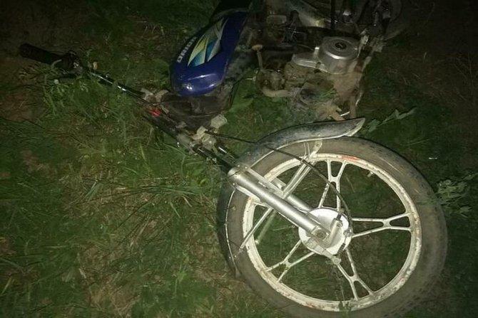 16-летний скутерист погиб в ДТП под Краснодаром