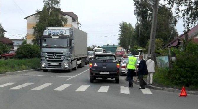 В Петрозаводске на переходе сбили мальчика
