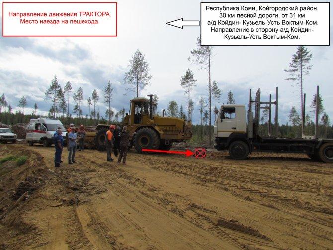 Трактор насмерть задавил человека в Койгородском районе