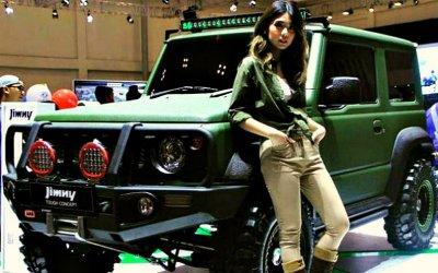 Представлена самая экстремальная версия Suzuki Jimny