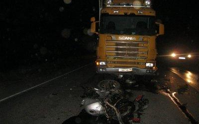 Мотоциклист погиб в ДТП в Челябинской области