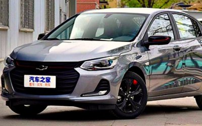 Начался экспорт седана Chevrolet Onix