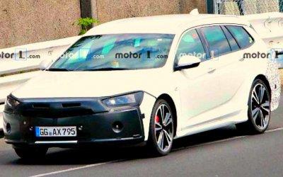 Испытывается новый универсал Opel Insignia