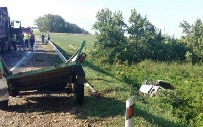 Мужчина и ребенок погибли в ДТП в Краснодарском крае