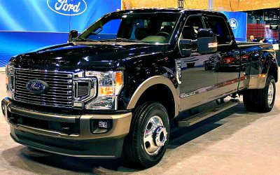 Пикап Ford Super Duty обзавёлся новым V8