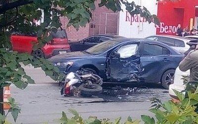 В ДТП в Дзержинске погиб мотоциклист