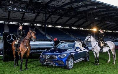 Презентация нового GLC на чемпионате по конному поло с Авилон Легенда