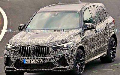 ВГермании замечен обновлённый BMW X5 M