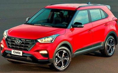 Hyundai Creta стал российским бестселлером марки