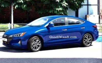 Hyundai Elantra: «посвежевший» дизайн иновое оборудование