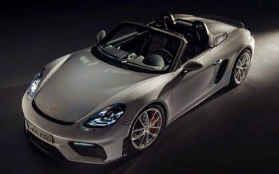 Представлен новый Porsche 718 Boxster Spyder