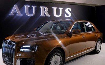 Aurus Senat стал шоу-стоппером вТуркмении