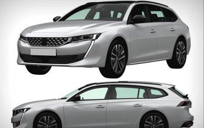 Фирма Peugeot запатентовала вРоссии новый универсал