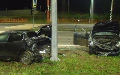 Двое взрослых и ребенок пострадали в ДТП в Братске