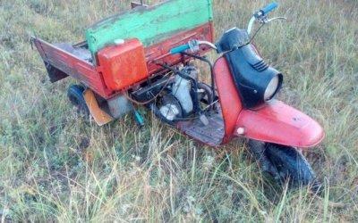 Пассажир мотороллера погиб в ДТП в Чесменском районе