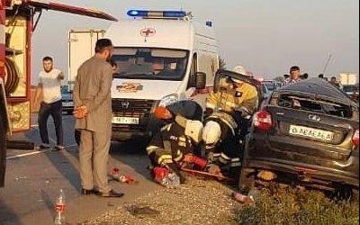 Шесть человек погибли в ДТП в Чечне