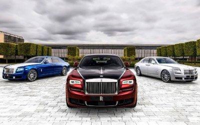 Rolls-Royce завершил выпуск коллекционной версии Ghost