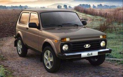 В Германии отзывают внедорожники Lada 4x4