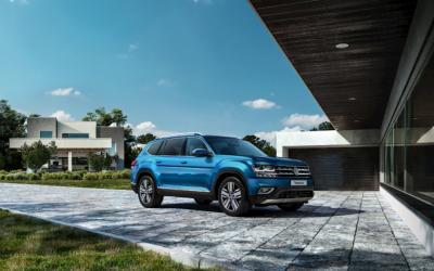 Volkswagen Teramont: высокие технологии и яркая индивидуальность