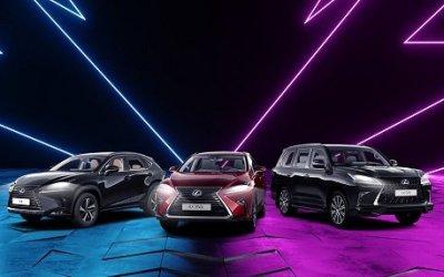 Три дня лучших цен на Lexus