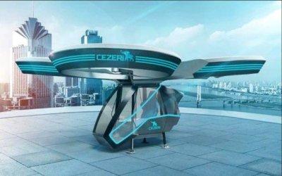 В Турции построен летающий автомобиль
