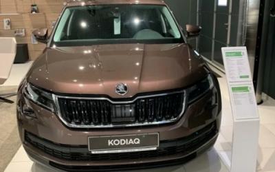 SKODA KODIAQ вошла в десятку самых популярных дизельных автомобилей в России