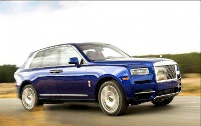 Кроссовер Rolls-Royce Cullinan получил новое исполнение