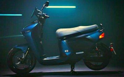 Yamaha представила новый электроскутер