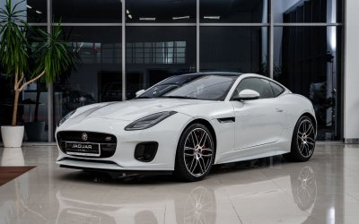 Юбилейная версия спорткара Jaguar F-TYPE Chequered Flag Coupe представлена в «АВИЛОН»