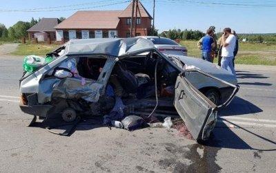 Четырехлетняя девочка погибла в ДТП в Челябинской области