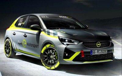 Opel рассекретил свой раллийный электромобиль