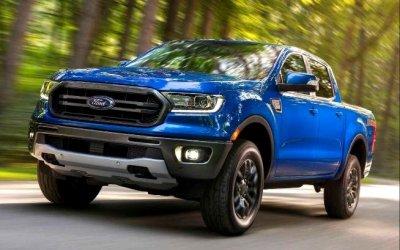 Ford Ranger: внедорожный пикап сзадним приводом