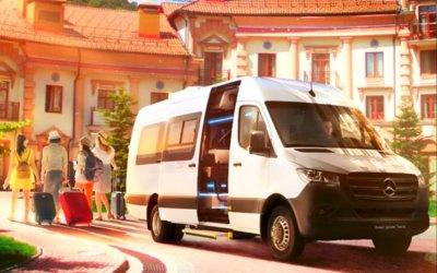 Mercedes-Benz привезёт вРоссию новый микроавтобус