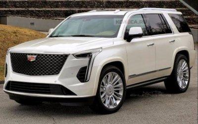 Cadillac Escalade пройдёт рестайлинг