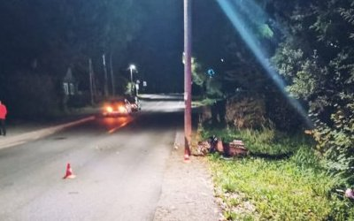 Двое подростков погибли в ДТП на мопеде в Ленобласти
