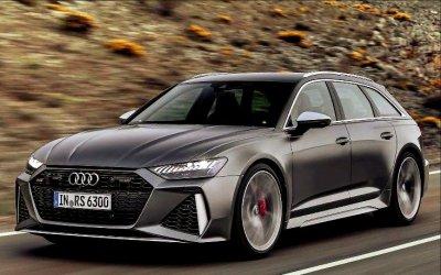 Представлен «заряженный» универсал Audi RS6 Avant