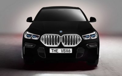 BMW покажет Vantablack - самый черный и почти невидимый автомобиль