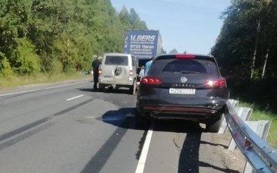 Три человека пострадали в массовом ДТП в Тверской области