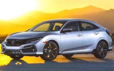 Обновлён хэтчбек Honda Civic